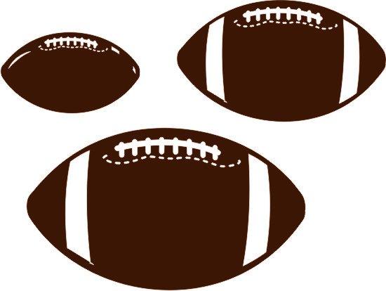 Footballs - Set of 3