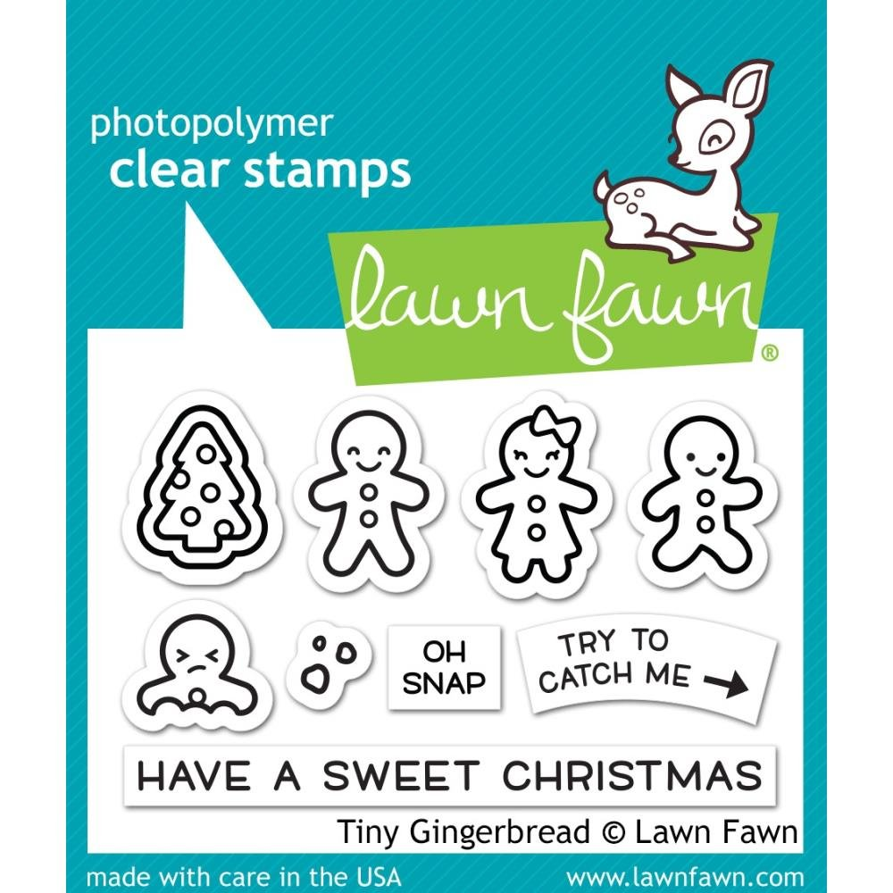 Tiny Gingerbread Stamp