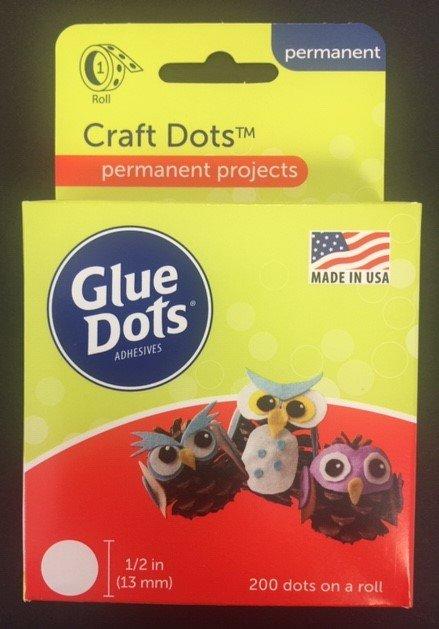 Glue Dots - 1/2 inch