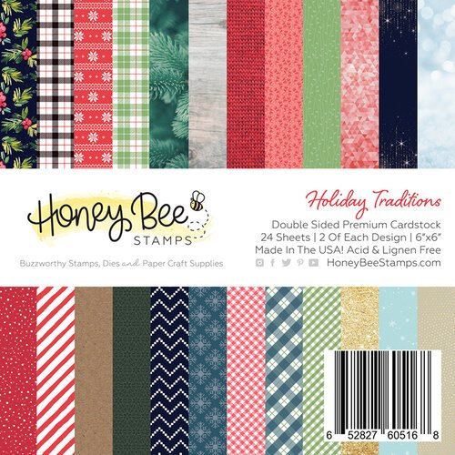 Holiday Traditions Paper Pad