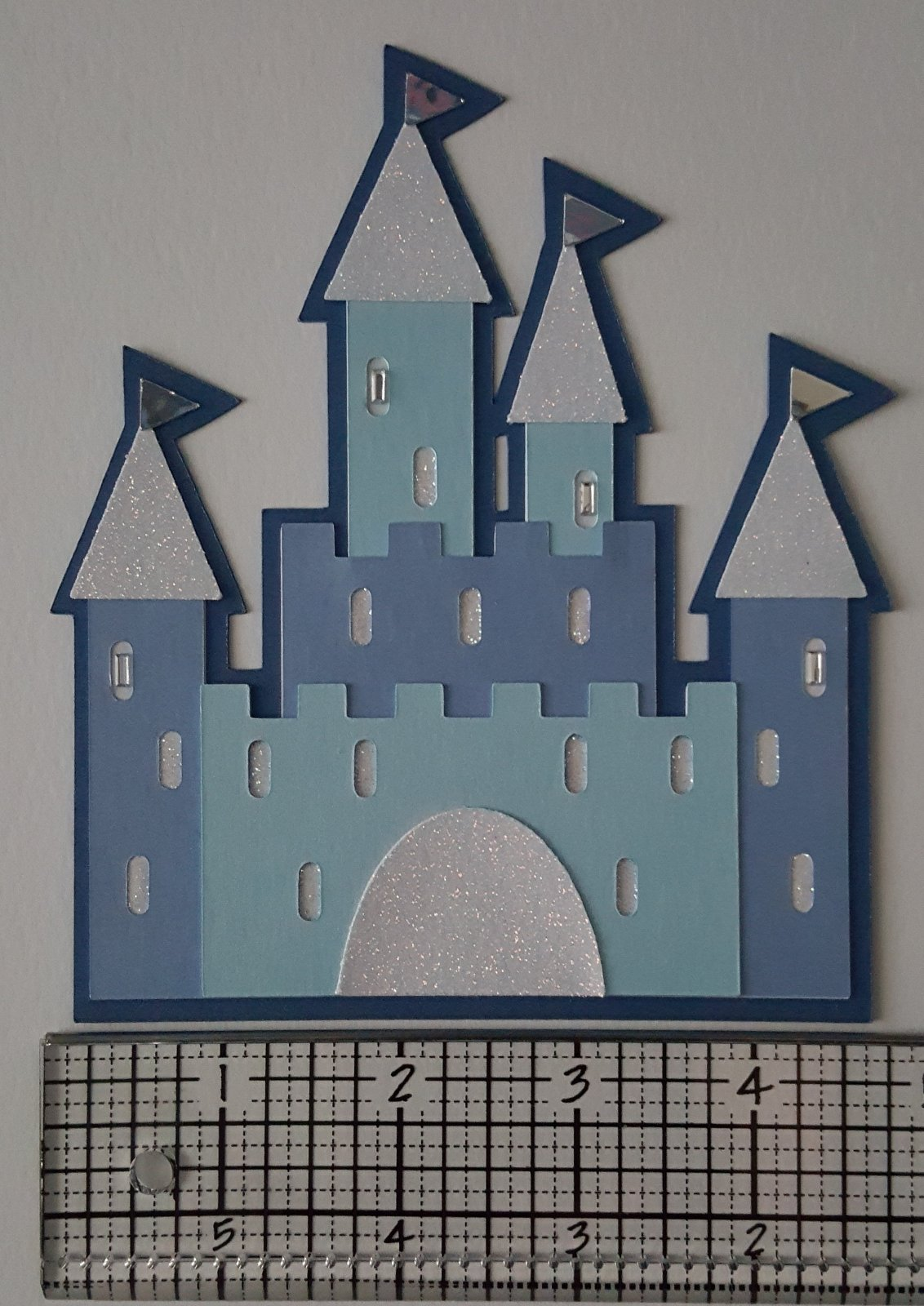 Large Castle Die Cut
