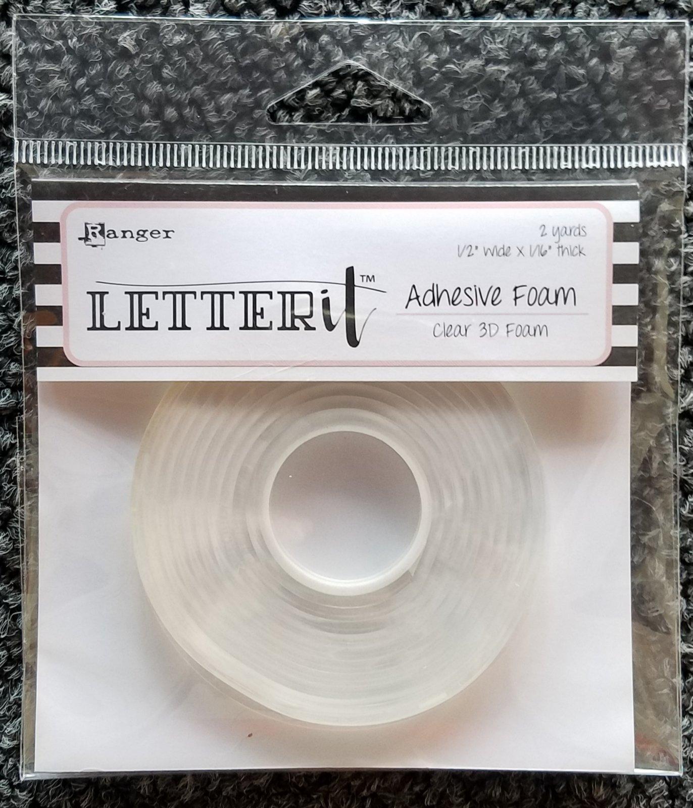 Letter It - Clear 3D Foam