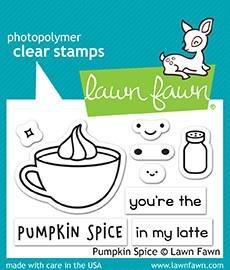 Pumpkin Spice Stamp