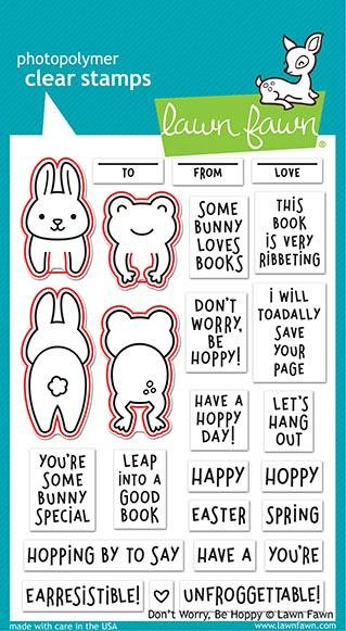 Don't Worry, Be Hoppy Stamps