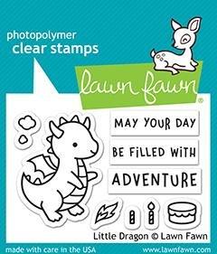 Little Dragon Stamp