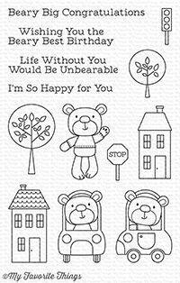 Town Bear Stamp
