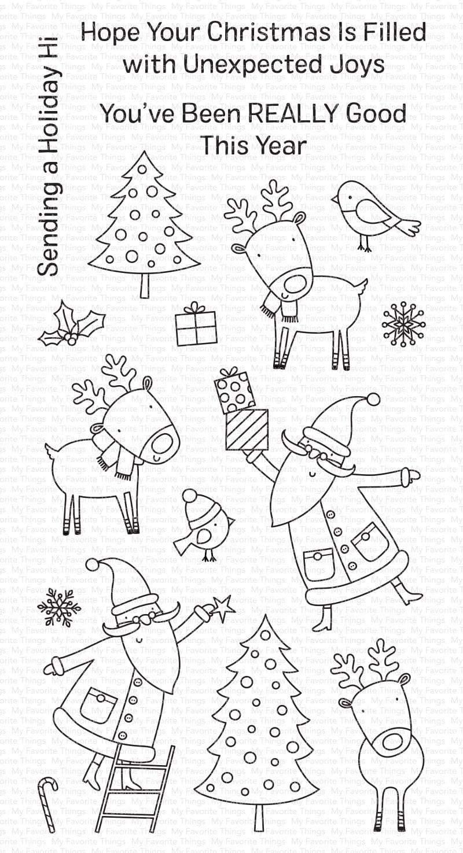 Joyous Holidays Stamp
