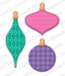 Patchwork Ornaments Die Set
