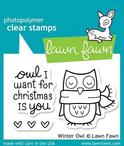 Winter Owl Stamp