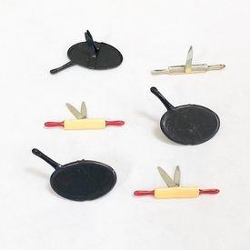 Brads - Pan/Rolling Pin