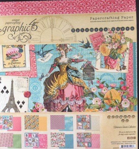 Ephemera Queen 8 x 8 Paper Pad