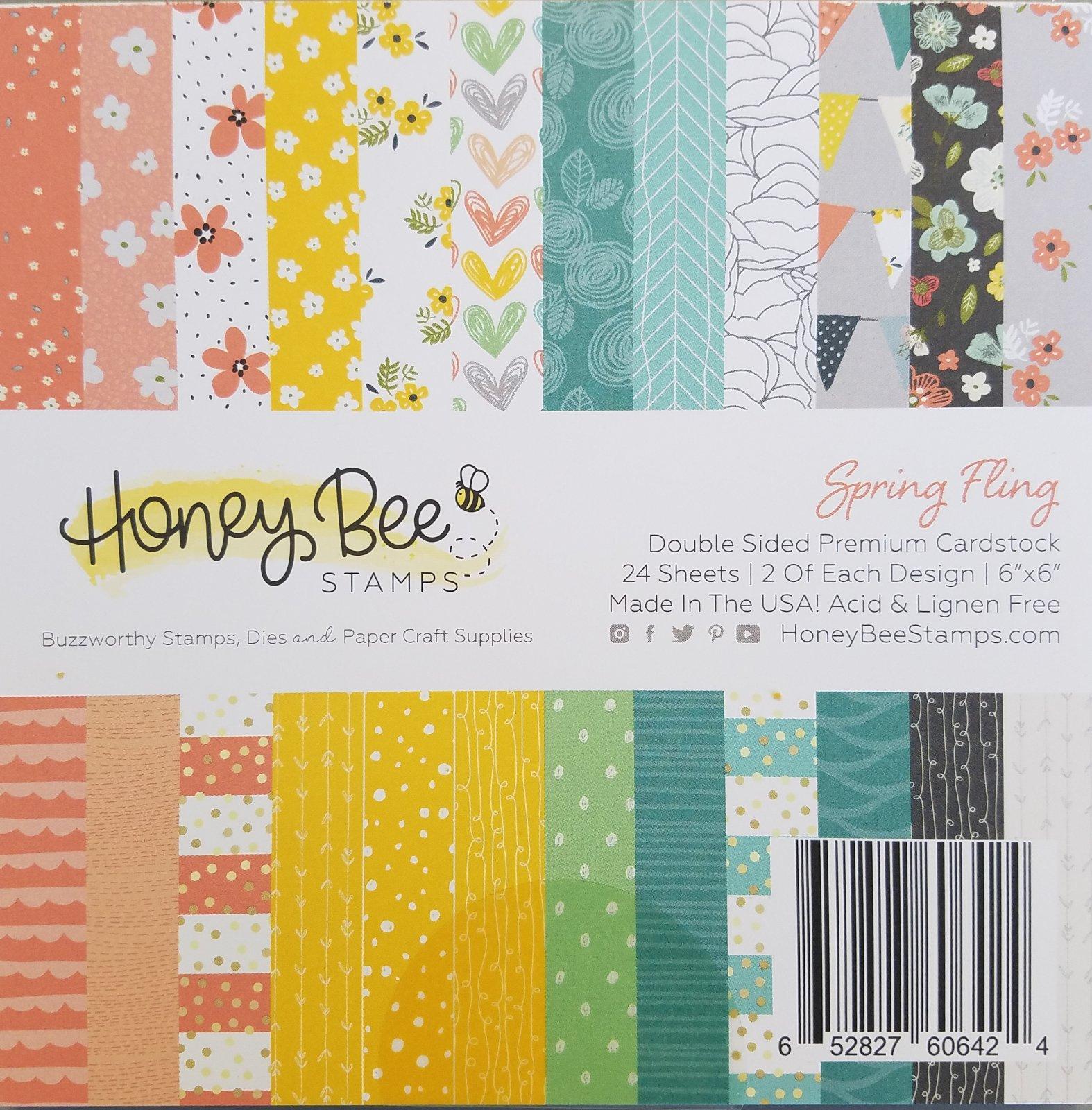 Spring Fling Paper Pad