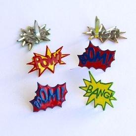 Brads - Super Hero Sayings