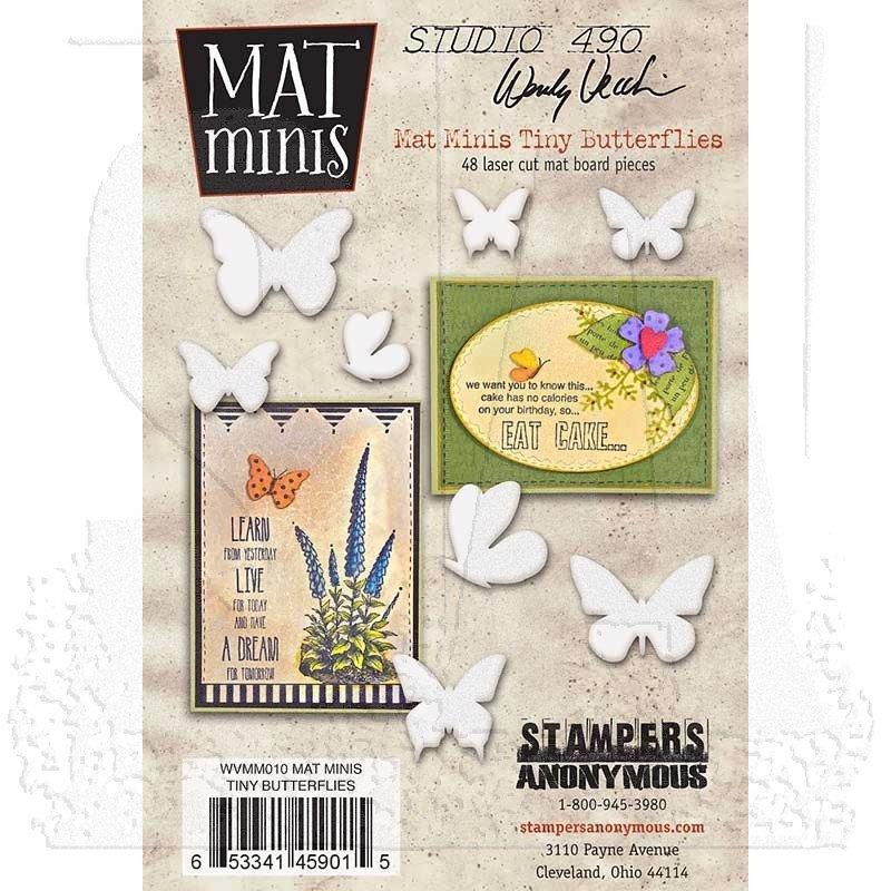Mat Minis - Tiny Butterflies