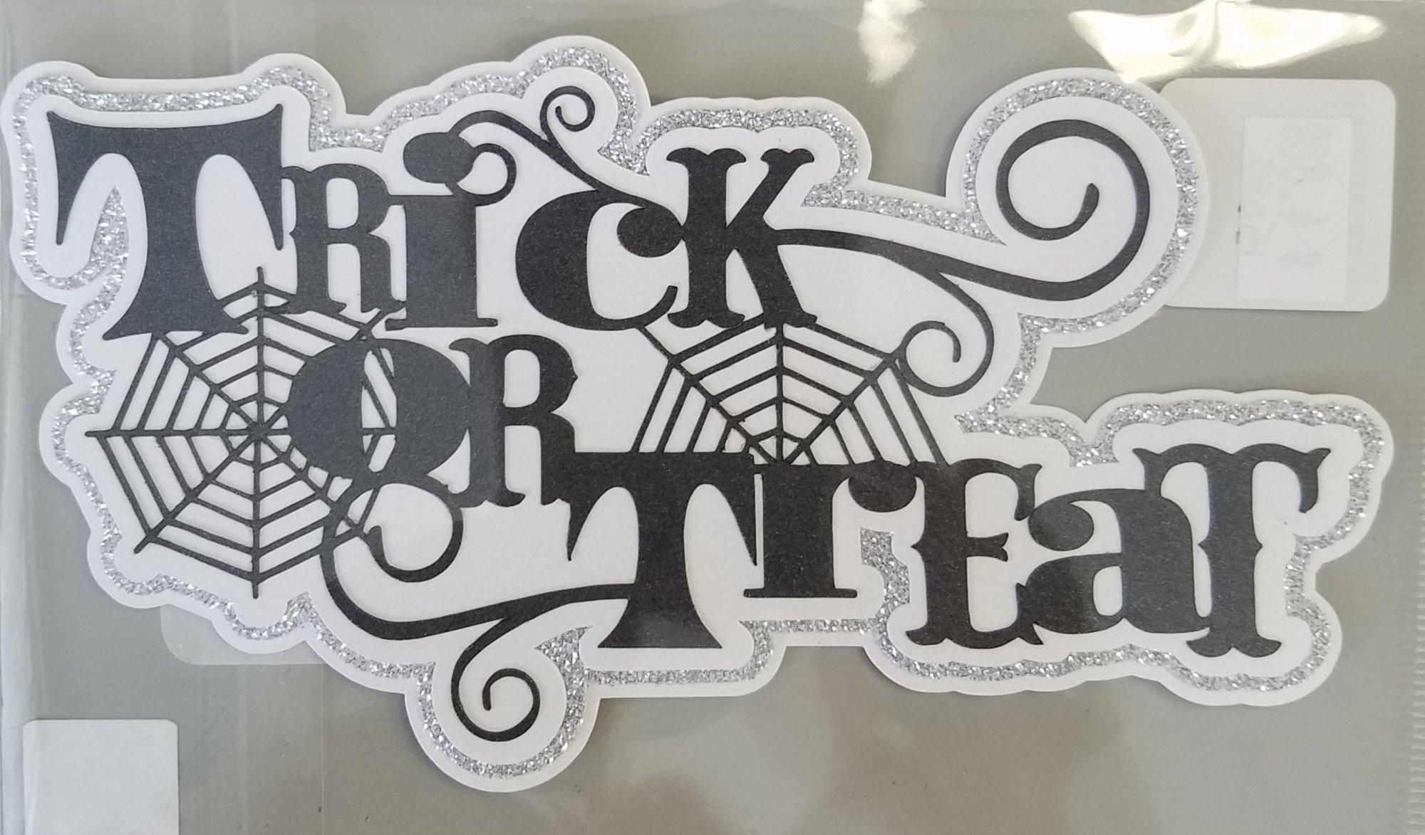 Trick or Treat w/web