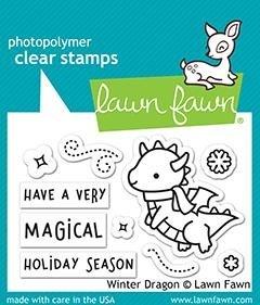 Winter Dragon Stamp