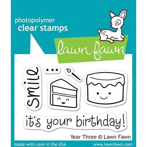 Year Three Stamp
