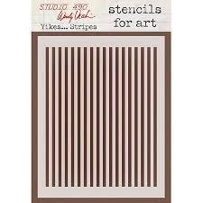 Stencil - Yikes...Stripes