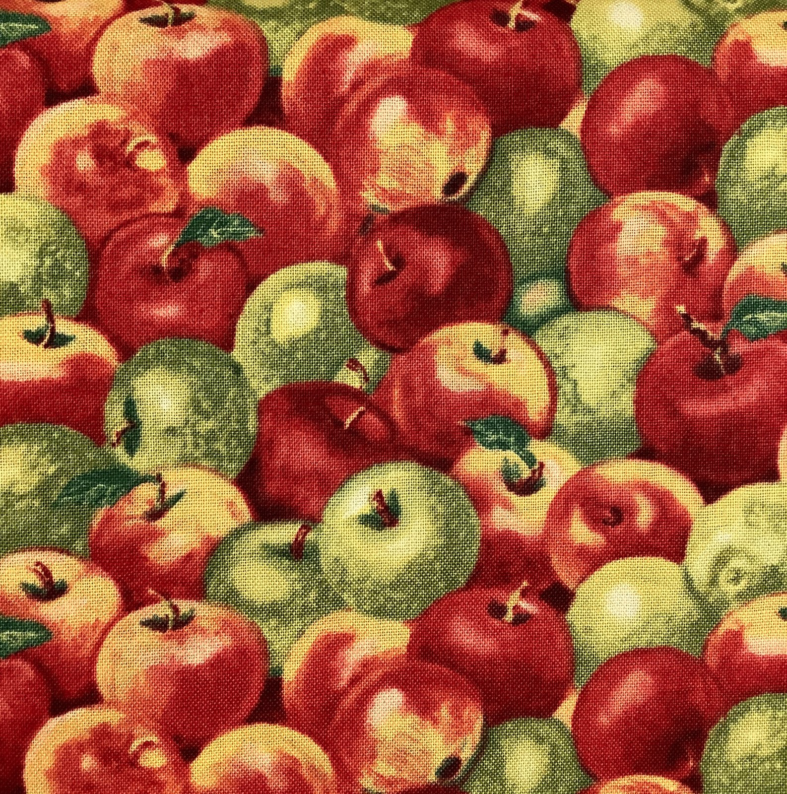 APPLE A DAY-APPLES-RED/GRN