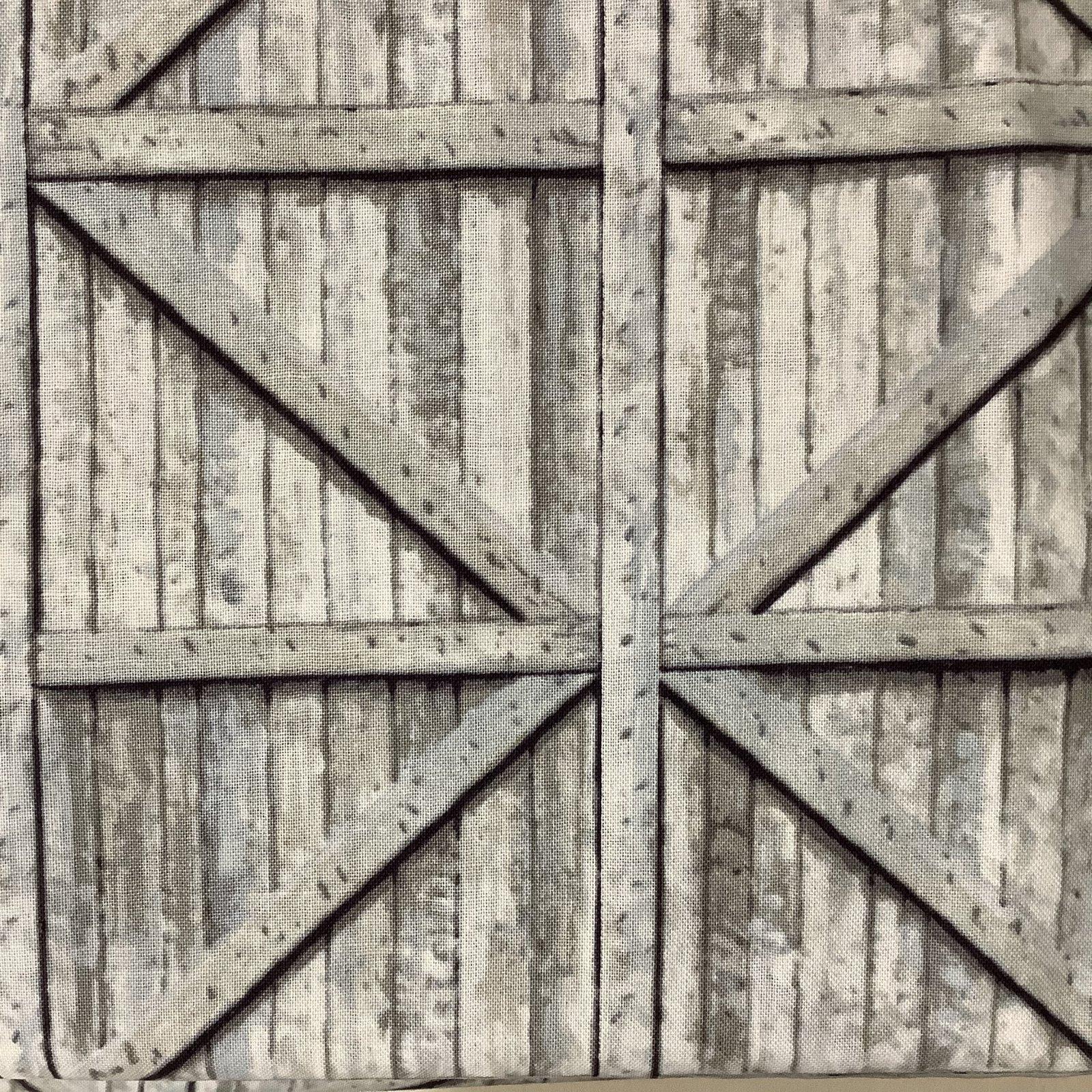 APPLE A DAY-BARN DOORS-WHTWASH
