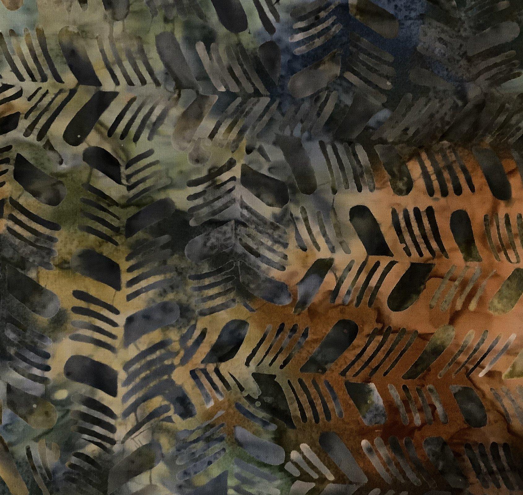 BATIK-HERRINGBONE-GREY MULTI