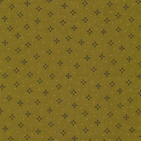 OCTOBER MORNING-ACORN BLOSSOMS-GREEN