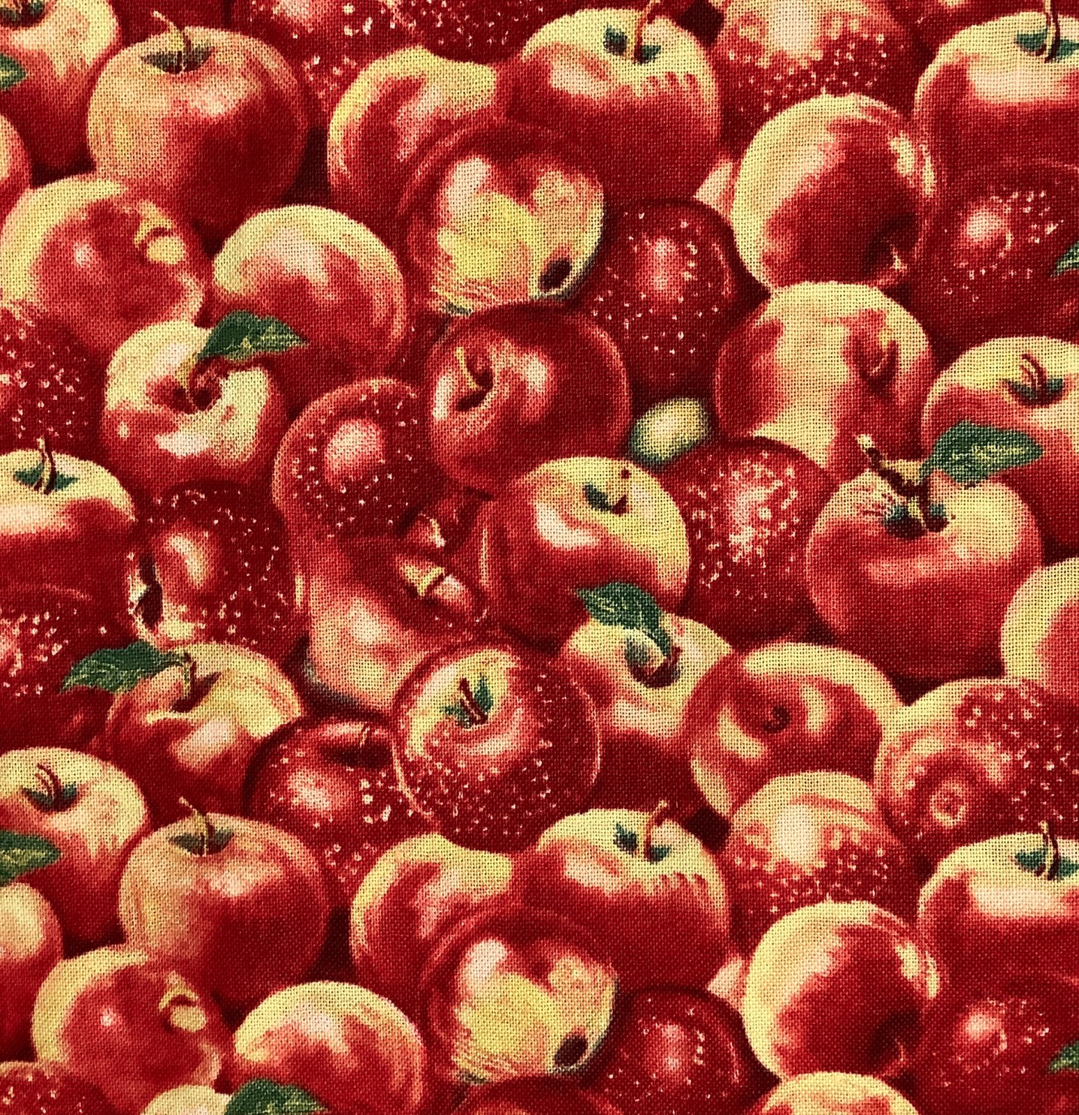 APPLE A DAY-APPLES-RED