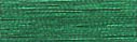 ROBISON ANTON METALLIC EMBROIDERY THREAD-40WT-1000YDS-EMERALD-#1010