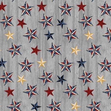 AMERICAN-RUSTIC STARS-GRY/MLT