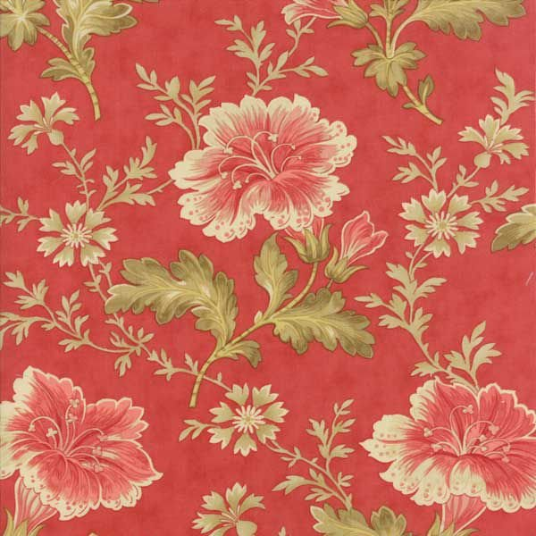 AUTUMN LILY-LG FLRL-ROSEY RED BLOOMS