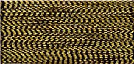 ROBISON ANTON METALLIC EMBROIDERY THREAD-40WT-1000YDS-ANTIQUE GOLD-#1007