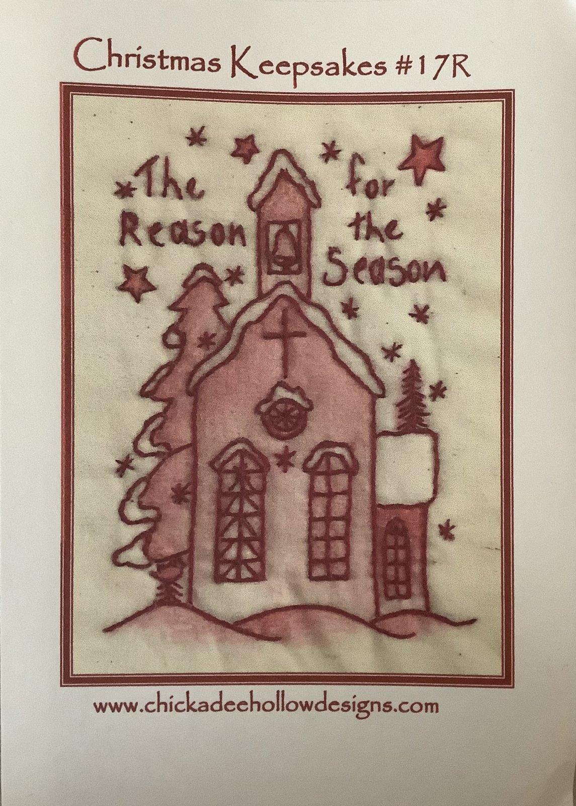 CHRISTMAS KEEPSAKES CHURCH-RED