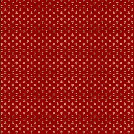BESS FLOWER GARDEN-QUILTING BEE (FLRL)-RED