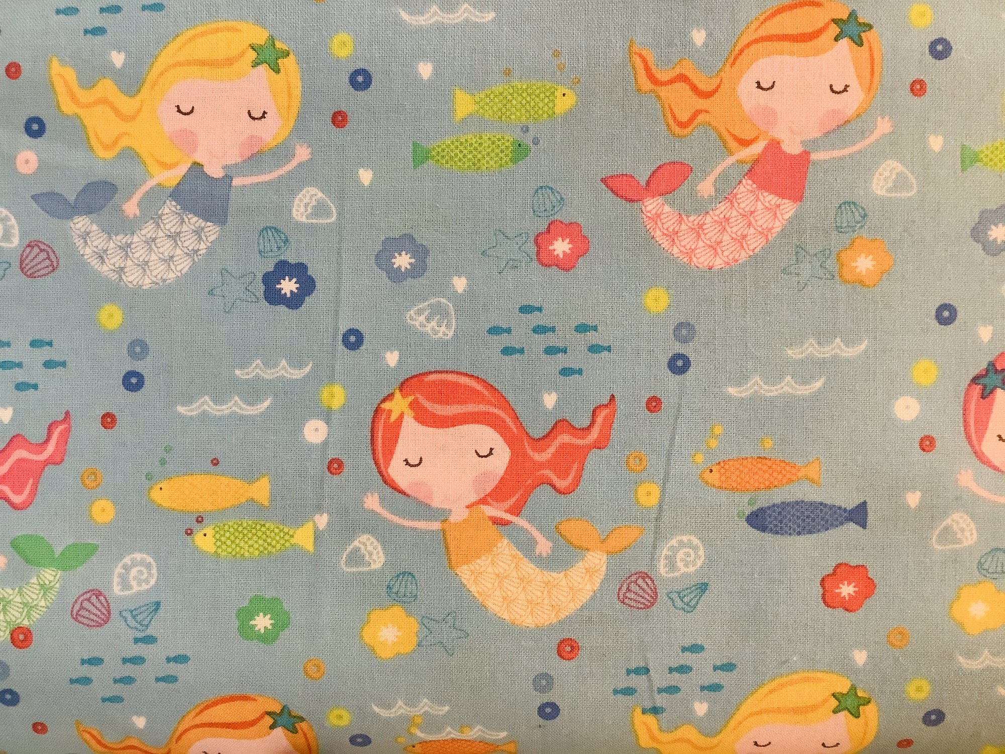 ABCS UNDER THE SEA-MERMAID-SKY