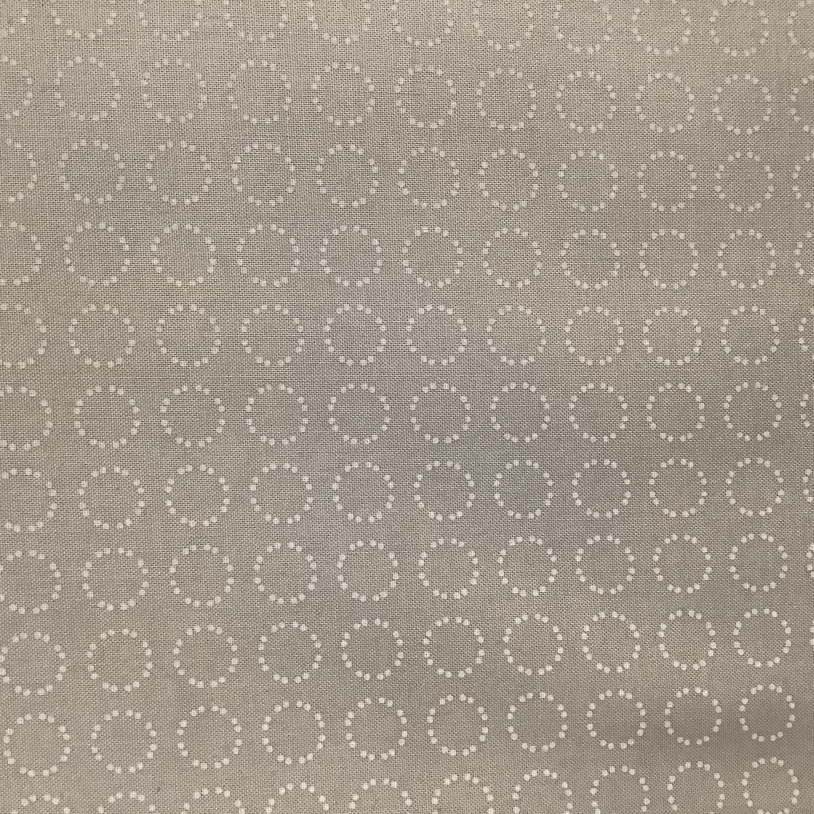 SILVER LININGS-DOTTED CIRCLES-GRY