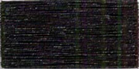 ROBISON ANTON METALLIC EMBROIDERY THREAD-40WT-1000YDS-BLACK-#1013