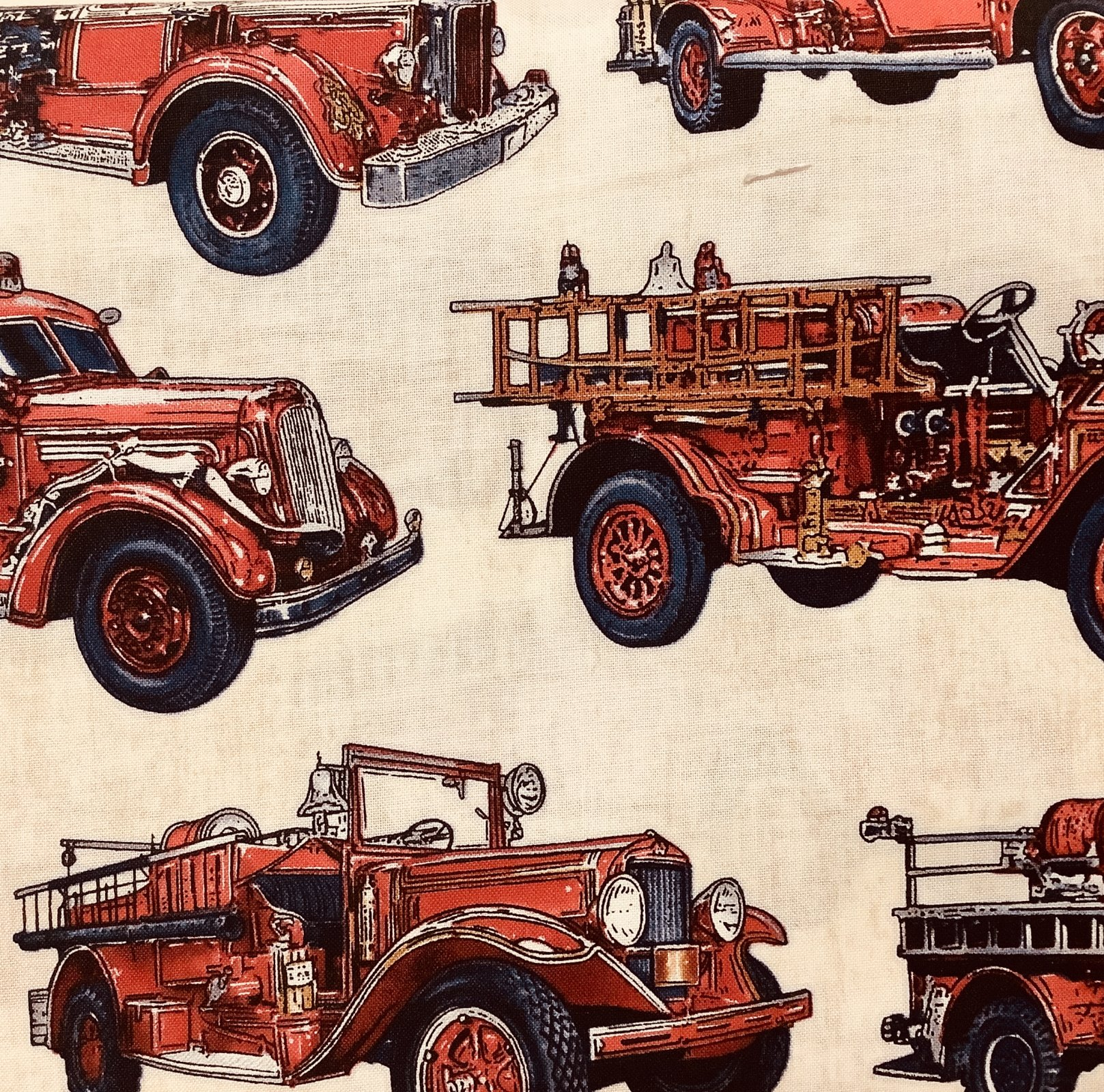 ALL FIRED UP-FIRE ENGINES-CRM