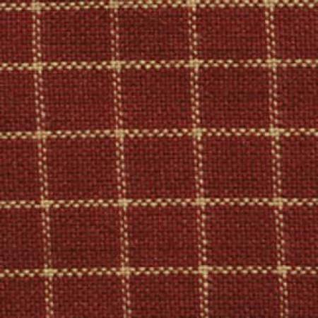 HOMESPUN-SMALL WINDOWPANE-RED/TEADYE