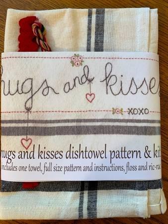 HUGS & KISSES DISHTOWEL KIT