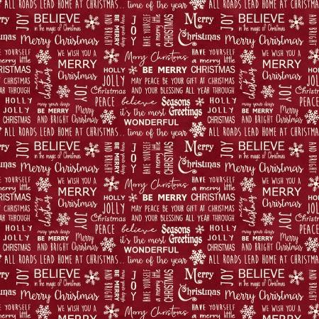 RUSTIC VILLAGE CHRISTMAS-BELIEVE IN MAGIC-BERRY
