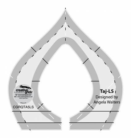 TAJ-LOW SHANK MACHINE QUILTING RULER