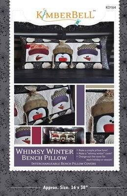 WHIMSY WINTER BENCH PILLOW-SEWING VERSION