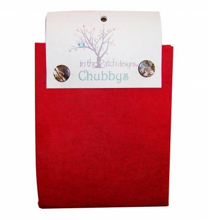 WOOL CHUBBY-16INX16IN-CHRISTMAS RED-HEATHER