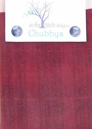 WOOL CHUBBYS-16-HOUNDSTOOTH-SCARLETT
