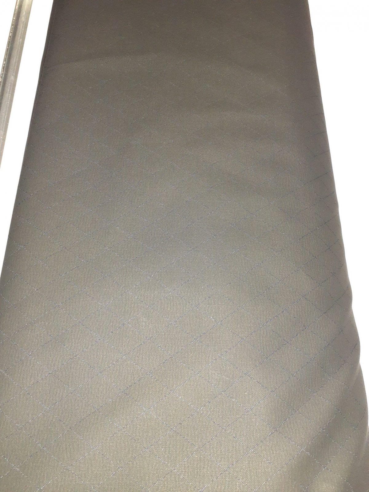 Slate Black Coated Diamond Stretch Denim