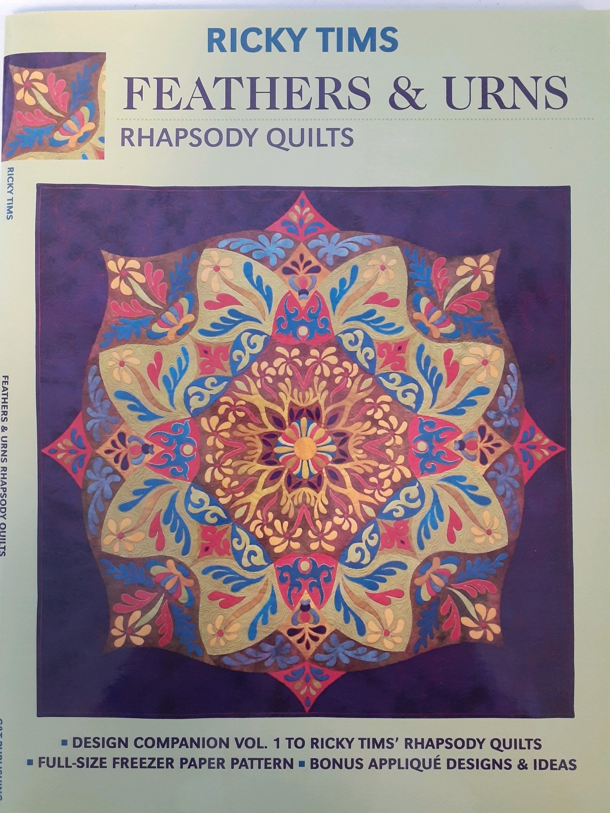 Feathers & Urns Rhapsody Quilts