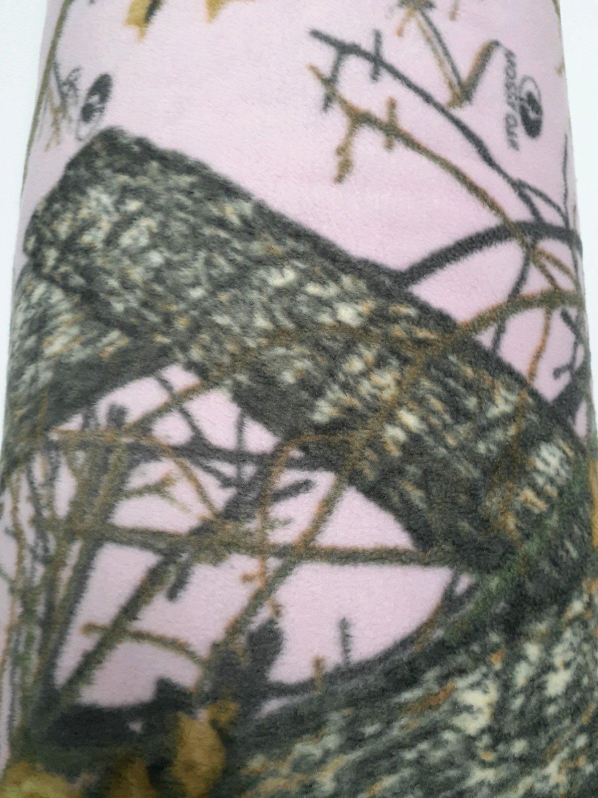 Mossy Oak Pink Fleece