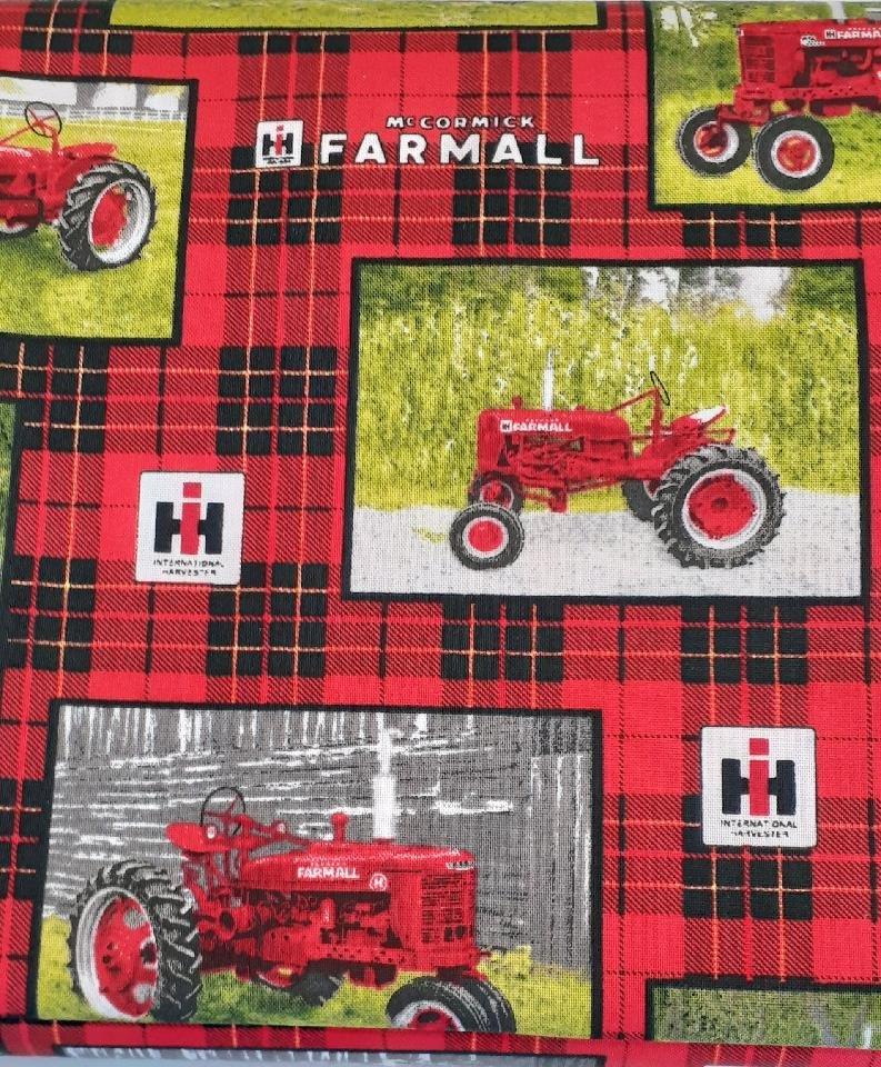 Farmall Box cotton print