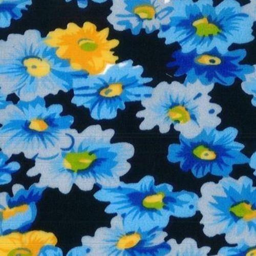 Blue Delilah #S113 Easycare Poly Cotton