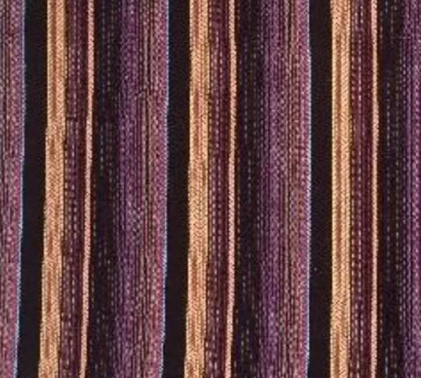 Burgundy Gold Japanese Yarn Dye Stripe Shirting - 58 wide